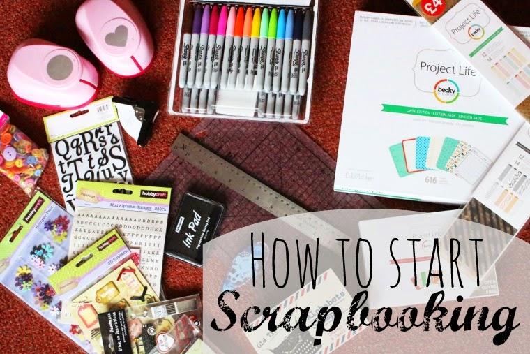 scrapbooking how to start