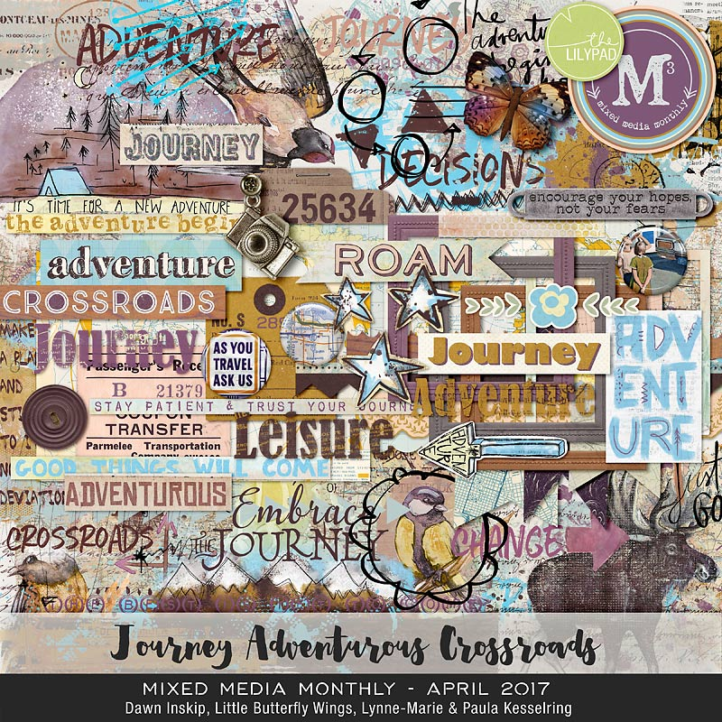 scrapbooking kits monthly