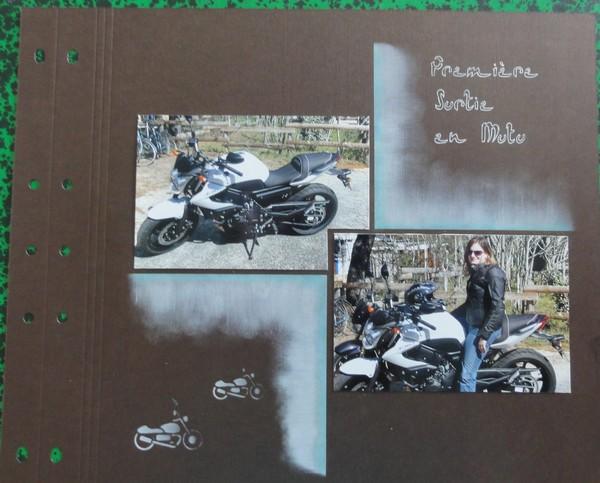 scrapbooking moto