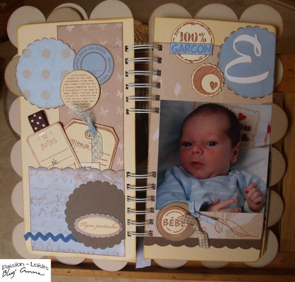 scrapbooking naissance garcon gratuit