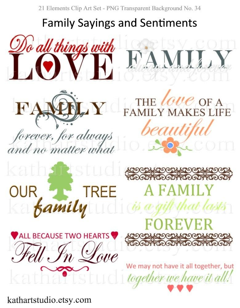 scrapbooking quotes about family