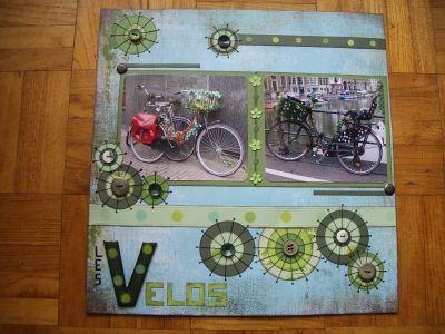 scrapbooking velo