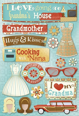 scrapbooking with stickers