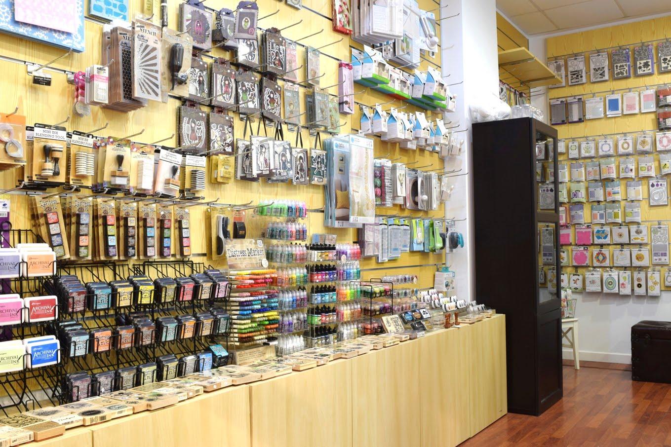 scrapbooking y manualidades tienda
